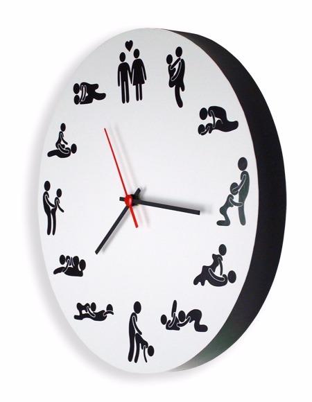 4bd7a285458 Relógio De Parede Erótico - Posições Sexuais - Kama Sutra - R  54