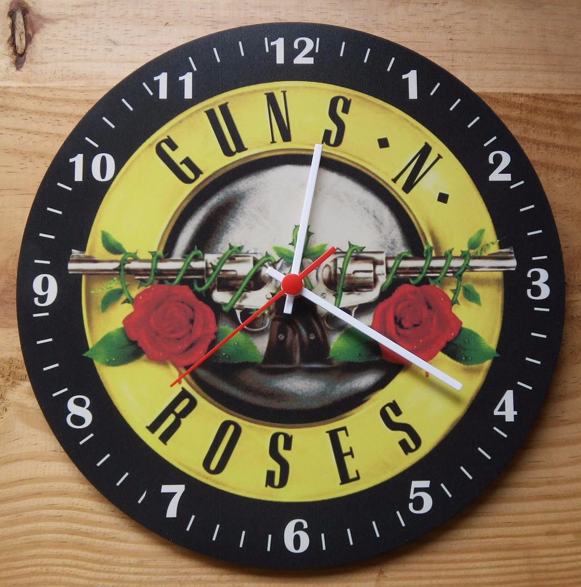 95fb4789c3e Relógio De Parede Guns N  Roses - Rock Disco Vinil Mod1 - R  45