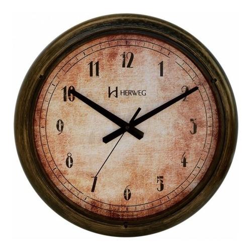 relógio de parede herweg 6654-272