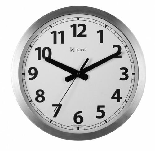 relógio de parede herweg 6711 - frete grátis