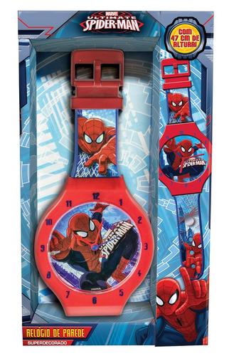 relógio de parede homem aranha spider man 47cms dtc mod 1