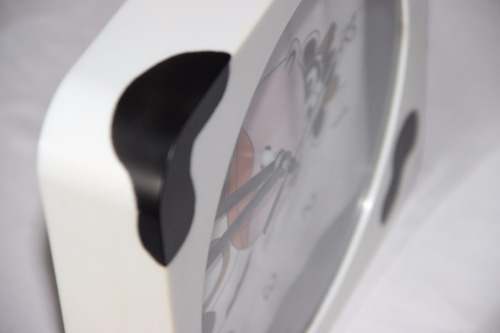 relógio de parede infantil temático de vaca usado