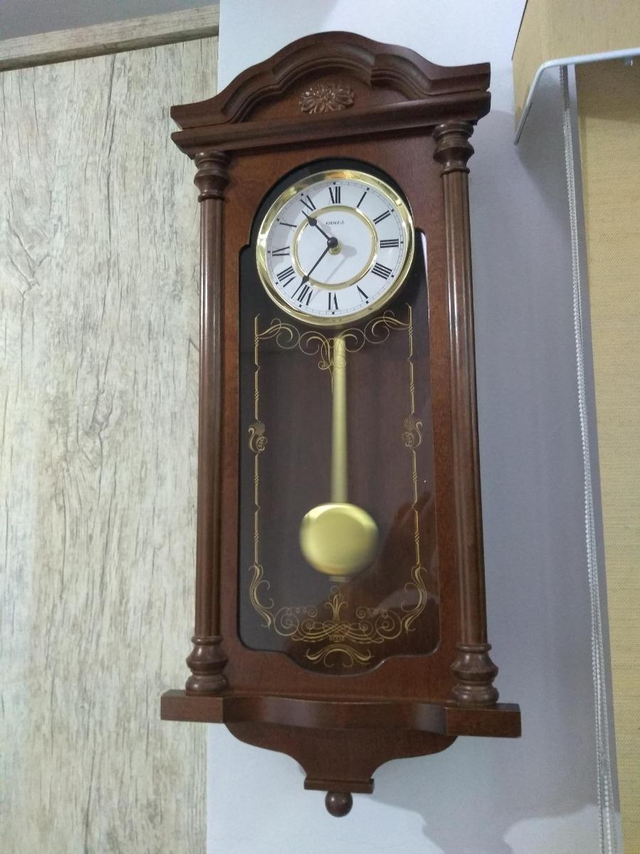 331c592852e relógio de parede kienzle antigo em madeira estilo clássico. Carregando  zoom.