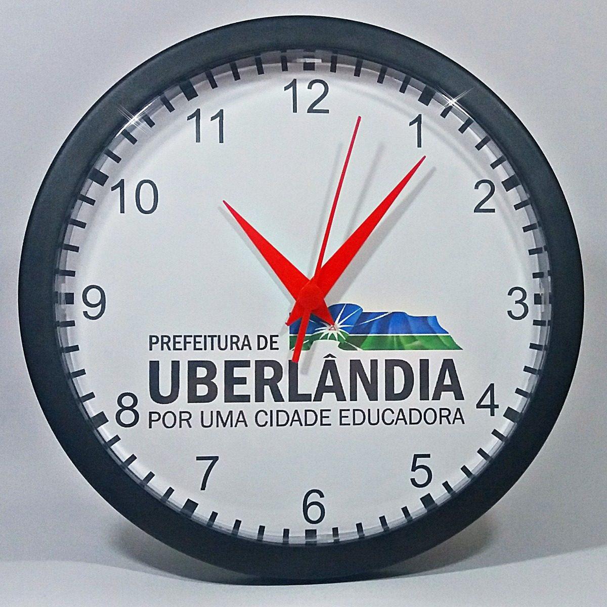 d845d7222da relógio de parede personalizado c  logomarca empresas - 24cm. Carregando  zoom.
