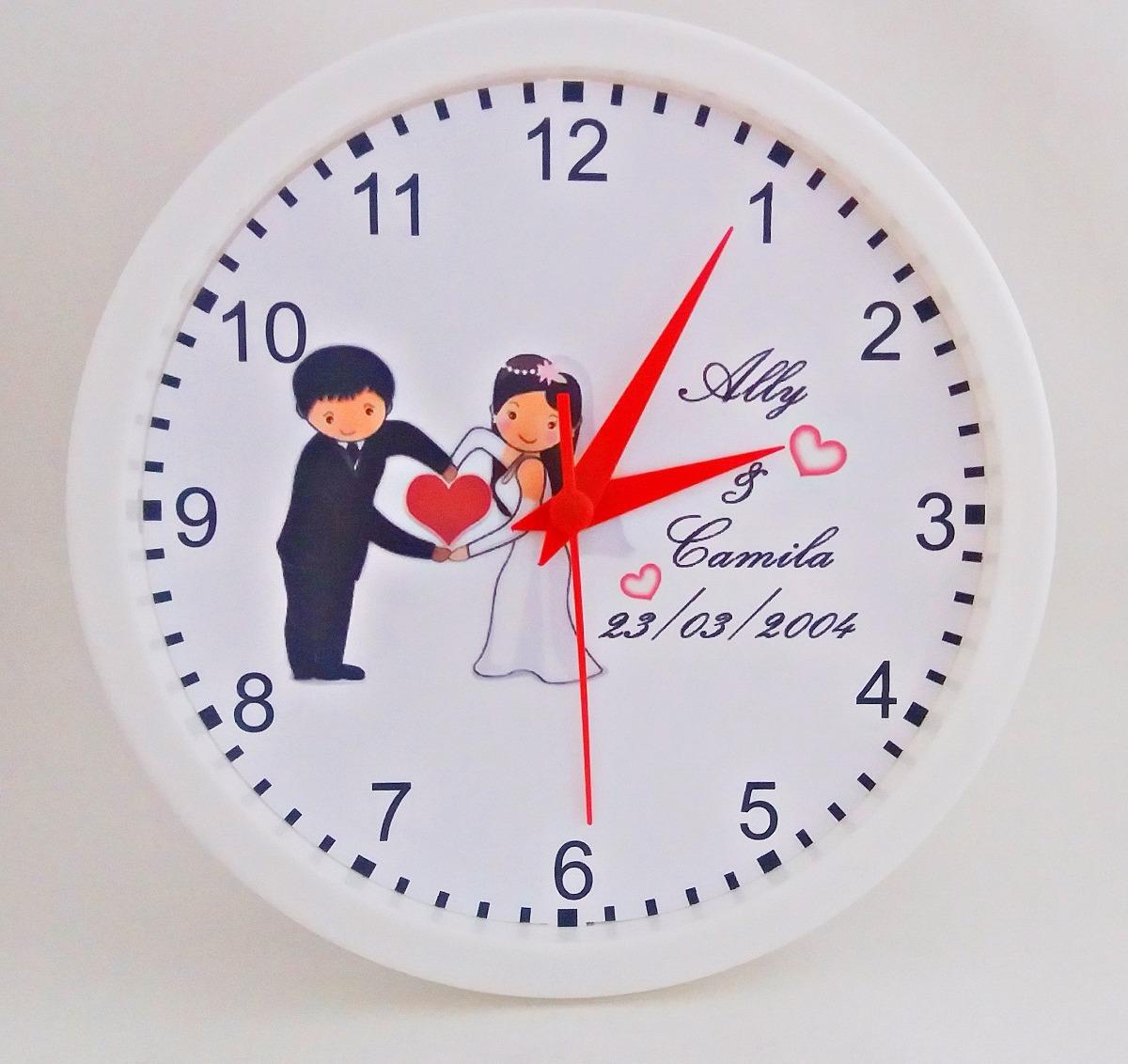 13607bbdac0 Relógio De Parede Personalizado Com Sua Foto - 24cm (oferta) - R  24 ...