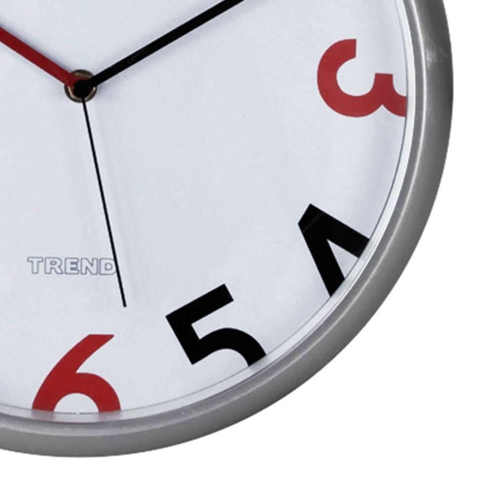 8435c6a0f49 relógio de parede redondo números vermelhos e pretos - urban. Carregando  zoom.