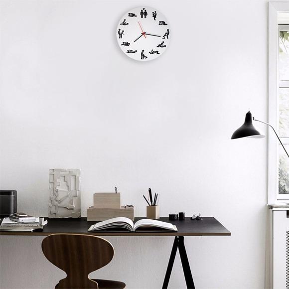 14e27a46176 Relógio De Parede Sex Clock - R  54
