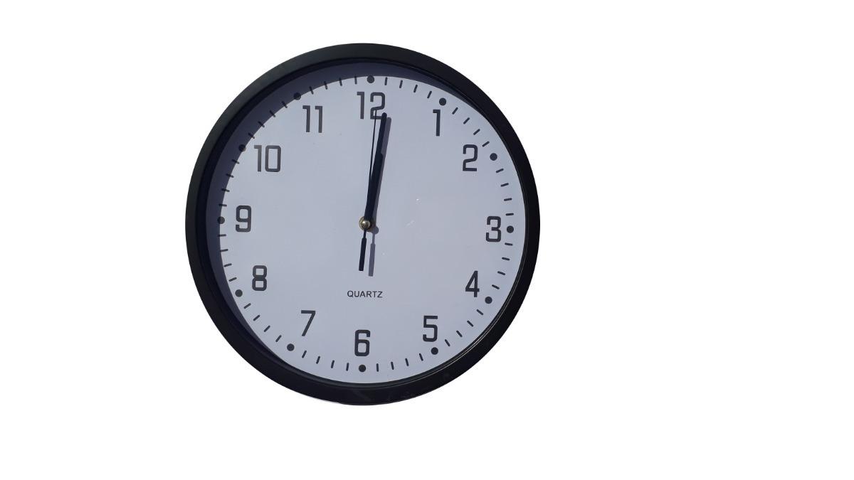 cf5c12465f9 relógio de ponteiro analogico parede 30cm decoração 8572 pre. Carregando  zoom.