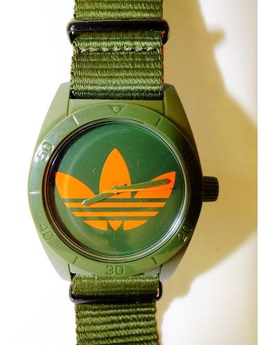 relógio de pulso adidas santiago - adh2876 - 100% original