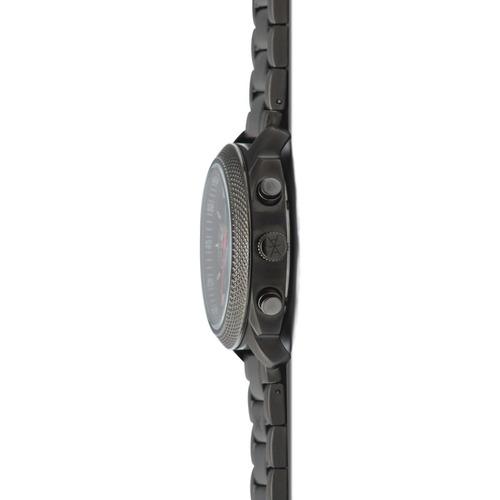relógio de pulso aimant jackson - gun metal - gja-120s8-18b