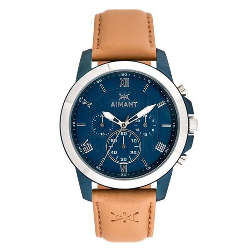 relógio de pulso aimant ke - blue nude - gke-100l5-2s