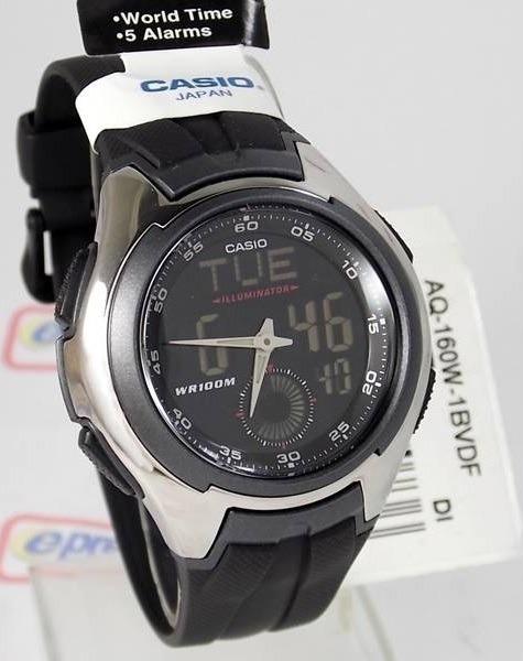 9c77032b570 Relógio De Pulso Anadigi Casio Active Dial Aq - 160w - R  274