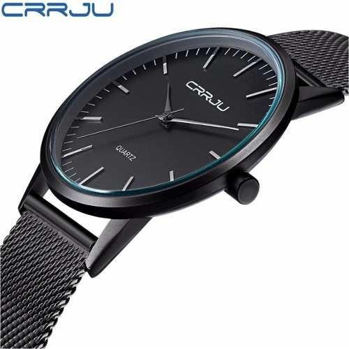 relógio de pulso análogico masculino ultra fino - oferta