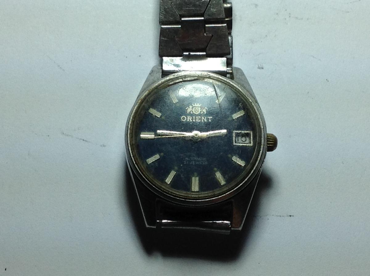 6f80a016009 relógio de pulso antigo de coleção automatic orient. Carregando zoom.
