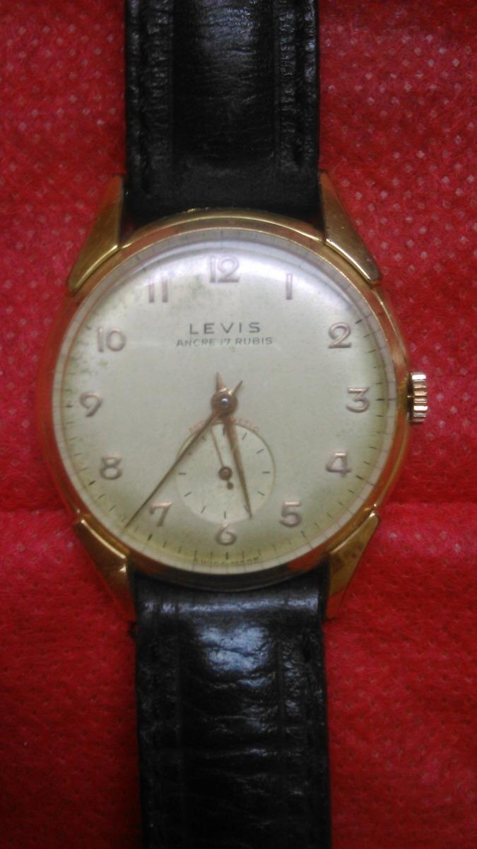 322c2a671c6 relógio de pulso antigo levis. Carregando zoom.