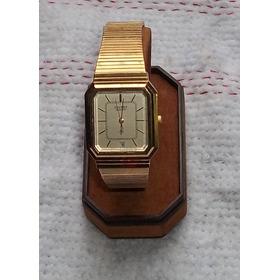 Relógio De Pulso Antigo Orient  Quatz Dourado - Anos 70
