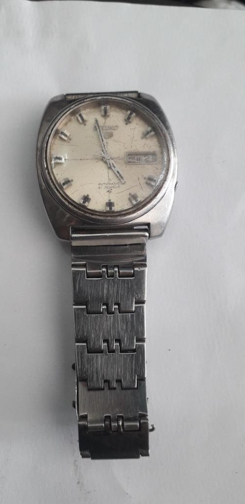 89fb0f3183a relógio de pulso antigo seiko 5 automático funcionando raro. Carregando zoom .