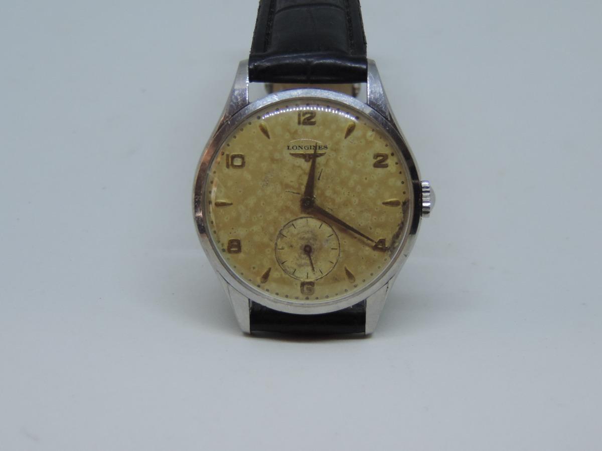 3c2008fc631 Relógio De Pulso Antigo Suiço Marca Longines A Corda. - R  780