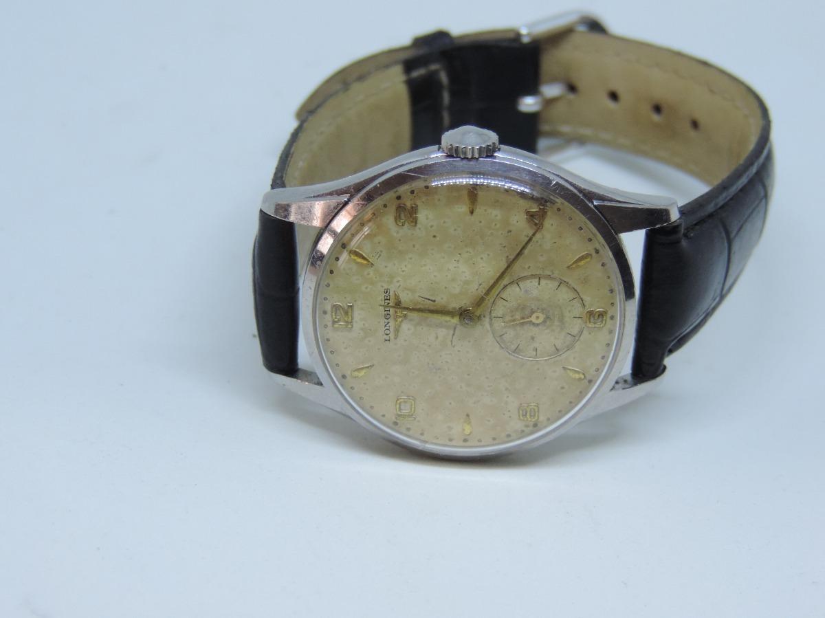 7a3a5b34516 relógio de pulso antigo suiço marca longines a corda. Carregando zoom.