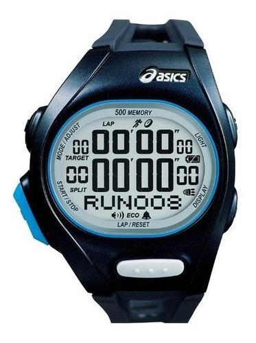 relógio de pulso asics race super - azul marinho