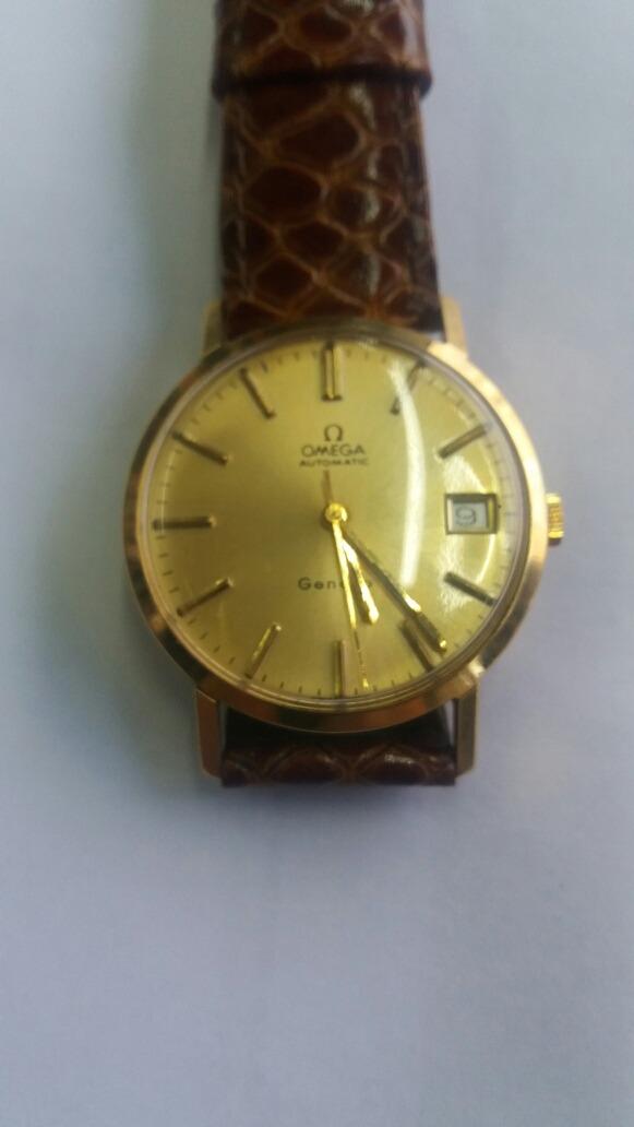 c095028a2ef relógio de pulso automático ômega antigo em ouro funcionando. Carregando  zoom.