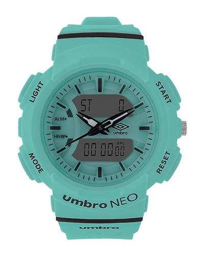 relógio de pulso azul bebê - umbro umb-070-3