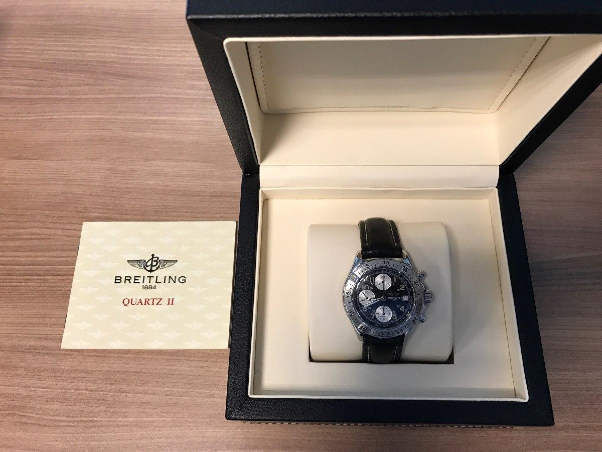 cc6537c6ad1 relógio de pulso breitling quartz ii. Carregando zoom.