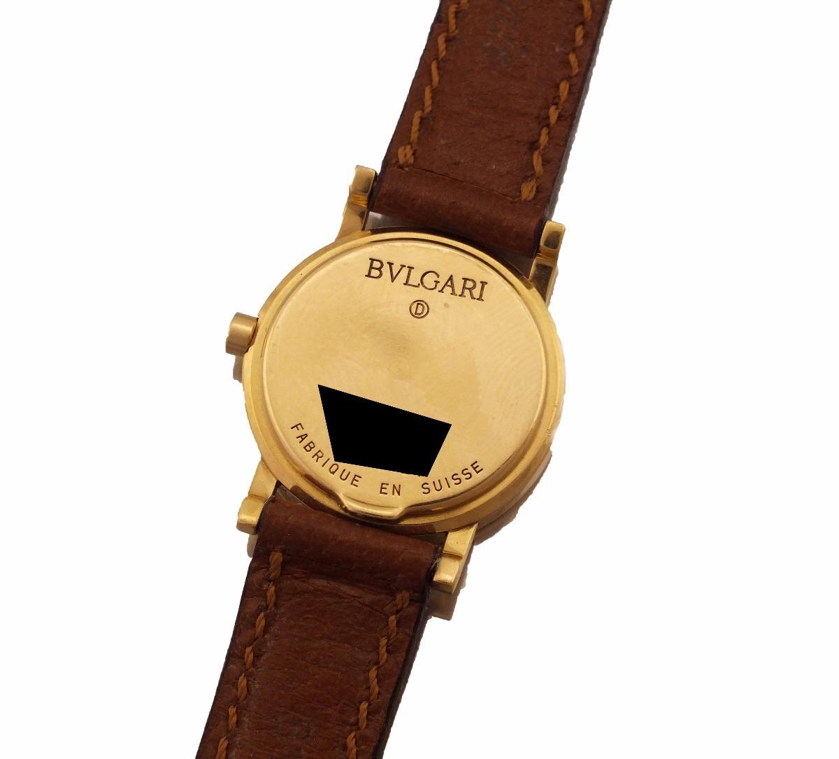 7d828be2cfe relógio de pulso bvlgari feminino em ouro 18k j17306. Carregando zoom.