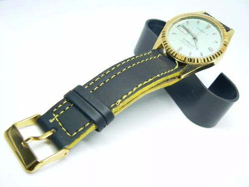 relógio de pulso citizen automático japonês, anos 70 vintage