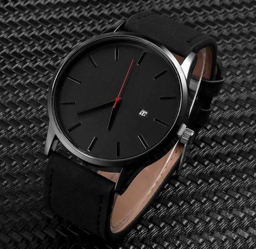 relógio de pulso com calendário masculino