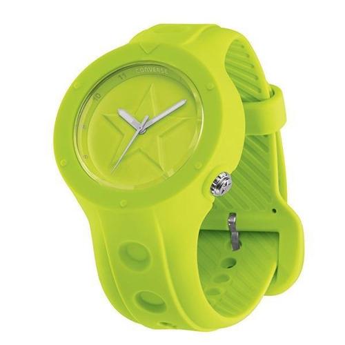 relógio de pulso converse rookie - verde limão