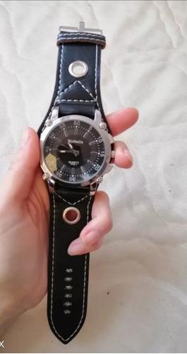 relógio de pulso de quartzo marca womage unissex