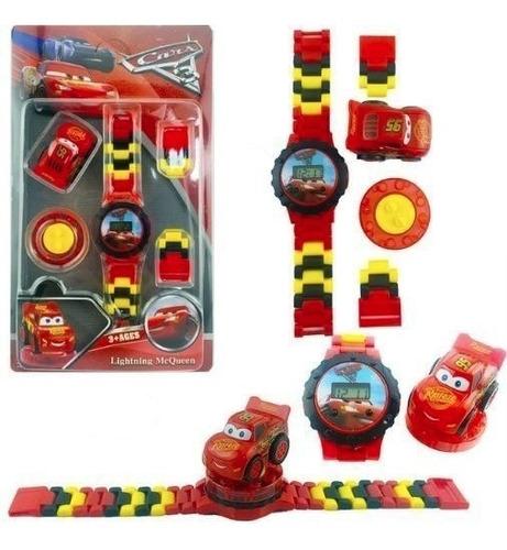 relógio de pulso digital infantil  carros da disney