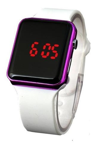 relógio de pulso digital led esportivo feminino promoção