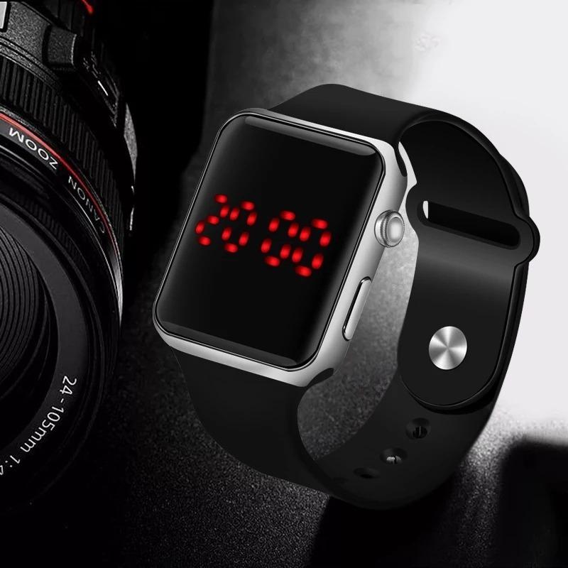 3478e24eb1d Relógio De Pulso Digital Led Masculino Feminino Promoção - R  29