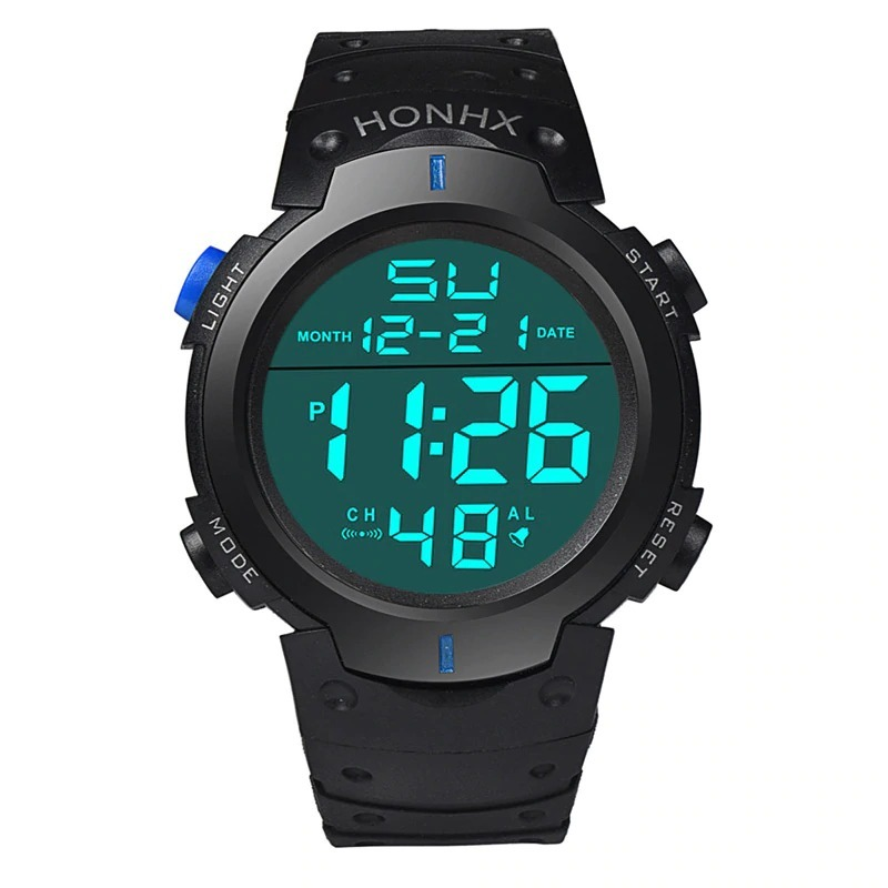 dcaa19f50b5 relógio de pulso digital masculino esportivo à prova d  água. Carregando  zoom.