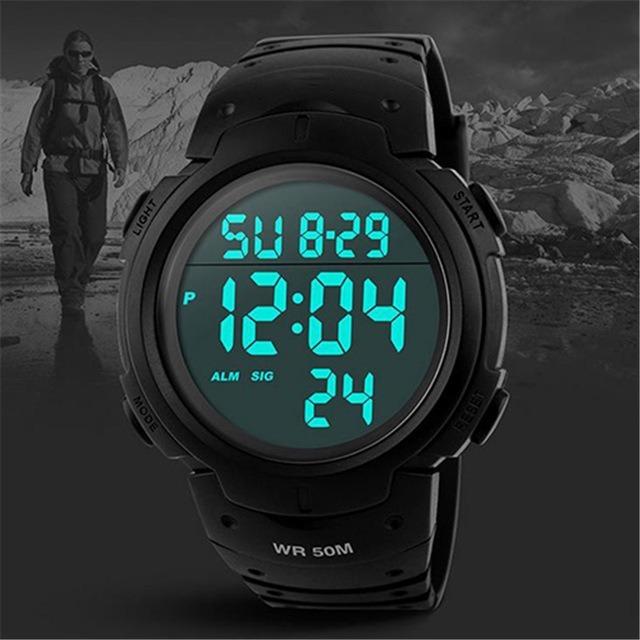 338b32ad5c3 Relógio De Pulso Digital Skmei Sport Mergulhoprova Dágua - R  75