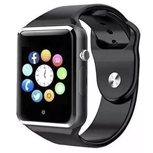 relógio de pulso digital smart smartwatch chip câmera unisex
