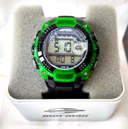 relógio de pulso digital technos mormaii na caixa sem uso