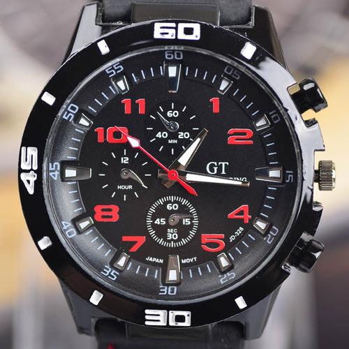 relógio de pulso e aço inoxidável esporte