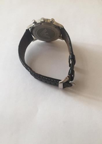 relógio de pulso empório armani mod.ar 0576