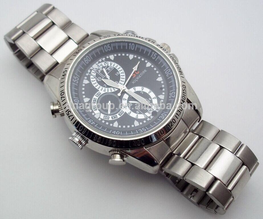 29be3217245 Relógio De Pulso Espião 16gb Camera Video Foto Audio - R  190