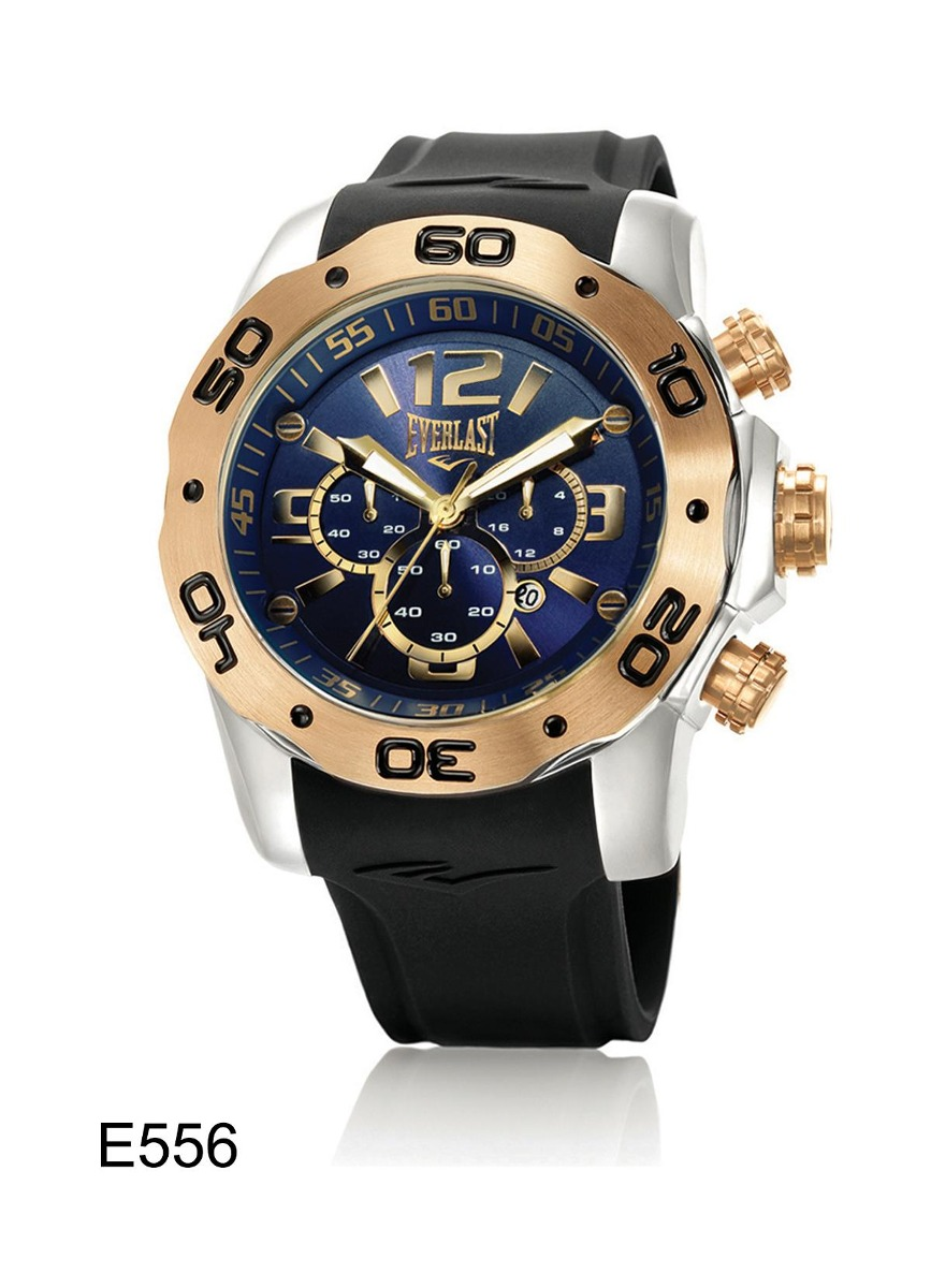 6d0d928623e relógio de pulso everlast cronografo pulseira silicone e556. Carregando  zoom.