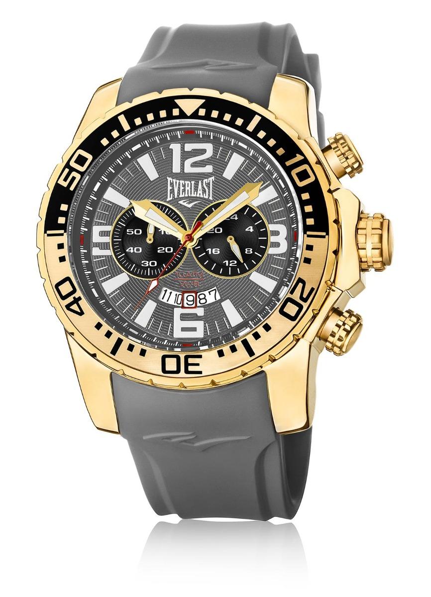 060bd0f2e12 relógio de pulso everlast pulseira silicone e650 masculino. Carregando zoom.