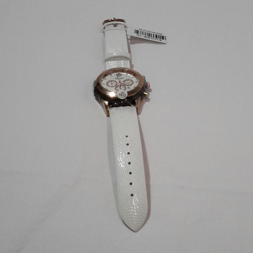 relógio de pulso feminino megir 2042 original luminoso branc