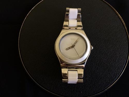 relógio de pulso feminino swatch irony swiss