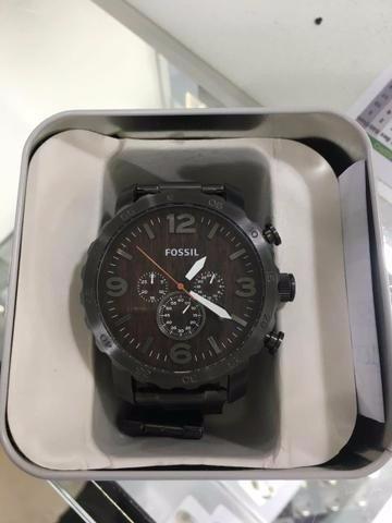 relógio de pulso fossil masculino cronógrafo fjr1355/z