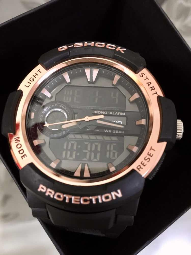 98dd99bd9a0 Relógio De Pulso G Shock Rosè Com Frete Gratis - R  120