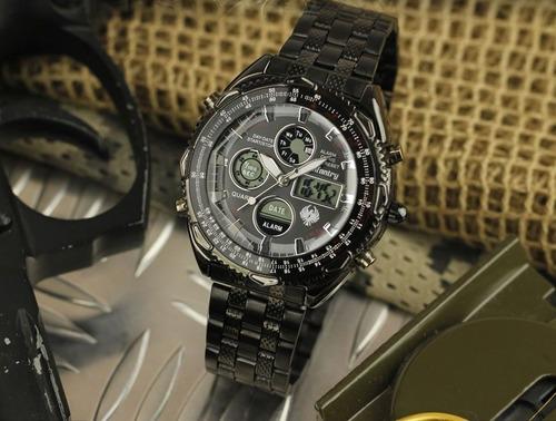 relógio de pulso infantry militar masculino in016 esportivo