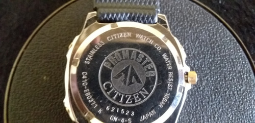relógio de pulso masculino citizen quartz watch co promaster